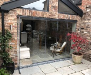 Tempered Frameless Glass Doors