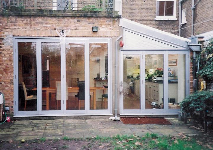 aluminium bi folding doors